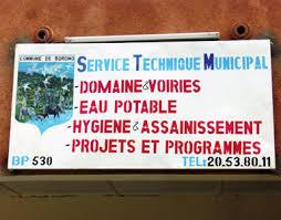 Services Techniques Municipaux_Burundi