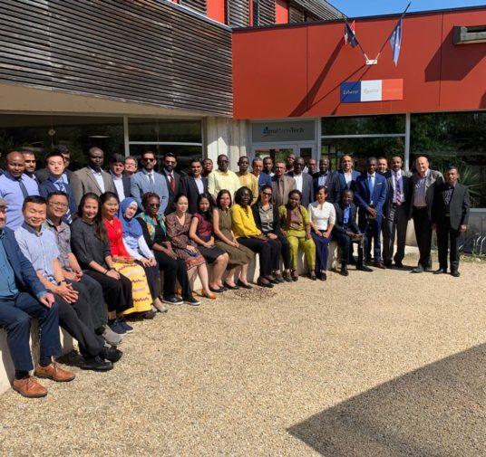 Cérémonie de remise des diplômes de la promotion Gérard Payen de l'IEM OpT session 2019-2020