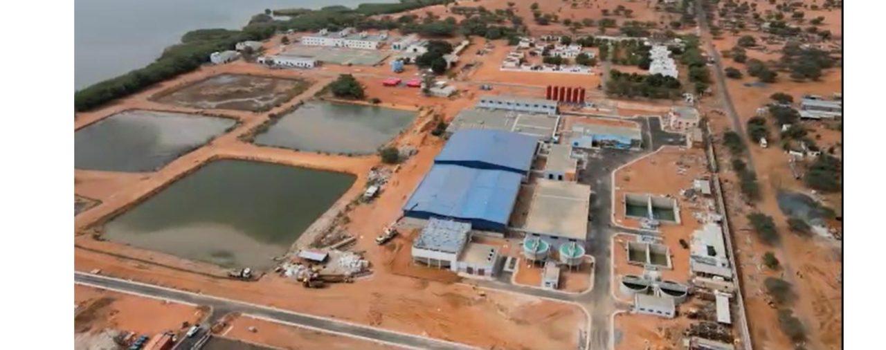 Inauguration de la station KMS3 par le Président de la République Sénégalaise, Monsieur Macky SALL